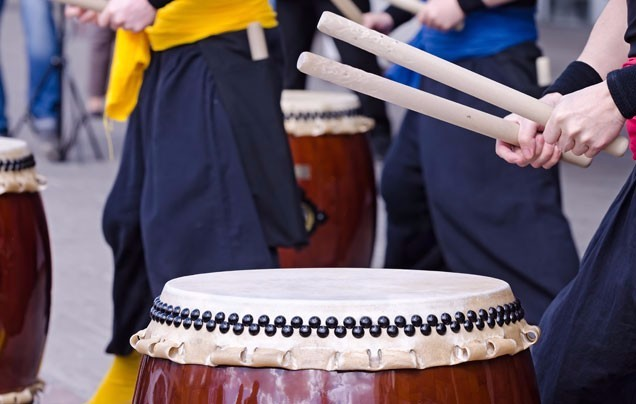 DAY 3: Japanese Drumming