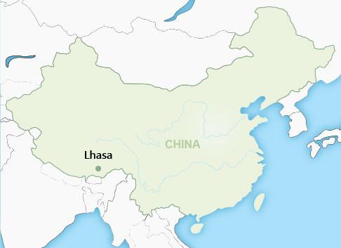 Lhasa China Map.Lhasa Tibet China Wendy Wu Tours