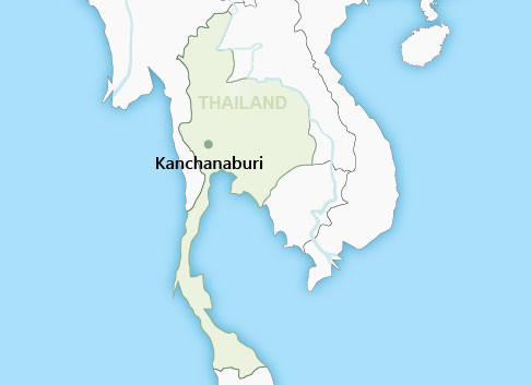Kanchanaburi Thailand Map.Kanchanaburi Thailand Wendy Wu Tours
