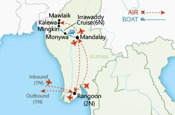 Magical Chindwin KalewaMonywa Myanmar Private Tour Wendy Wu Tours